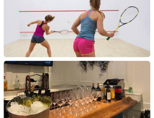 Squash-Tails (Women's Squash & Cocktails)