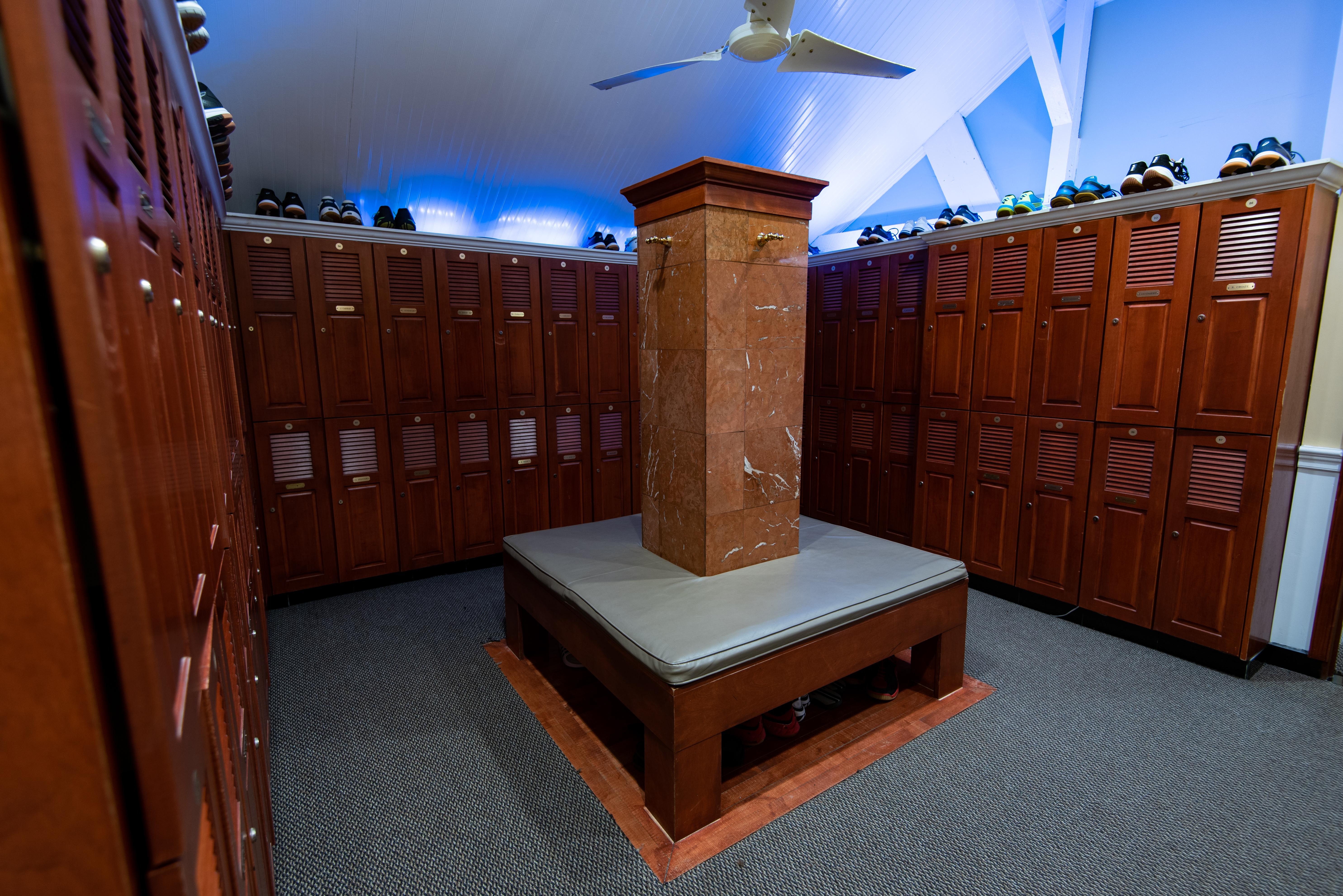 Locker-rooms