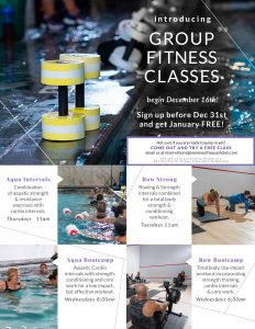 Introducing Group Fitness Classes